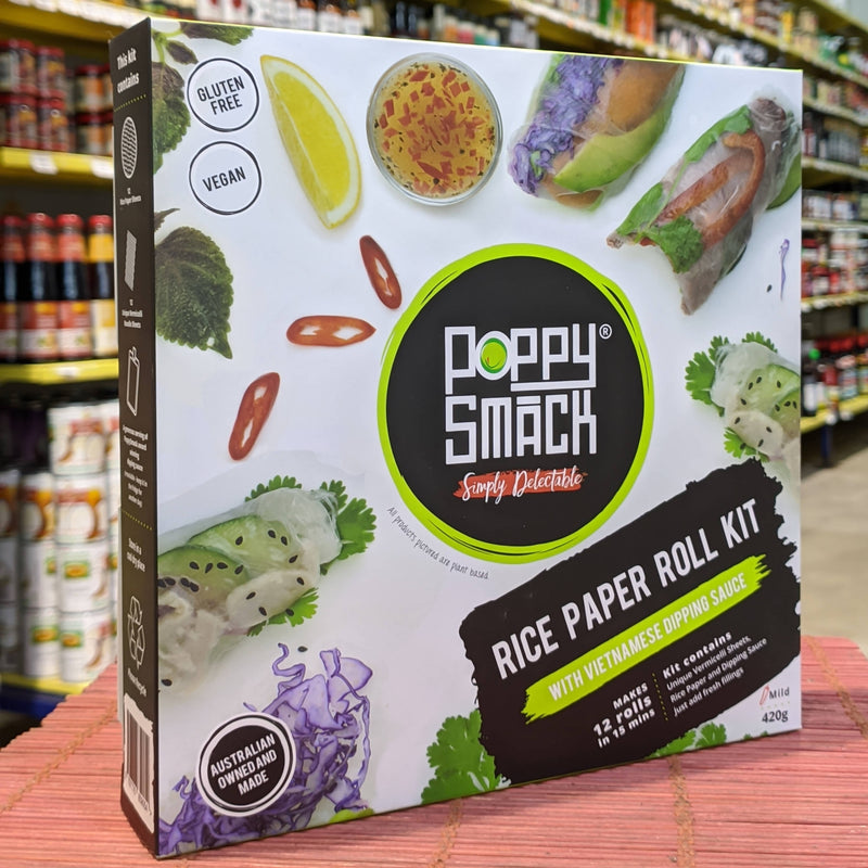 POPPY SMACK Rice Paper Kits VIETNAMESE DIPPING SAUCE