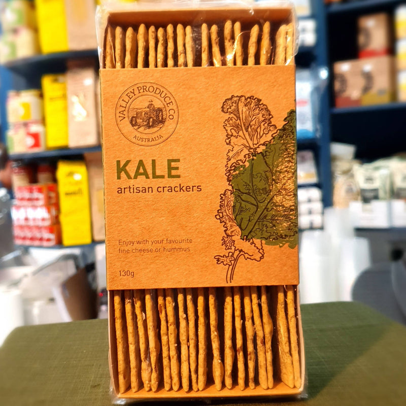 Kale Artisan Crackers