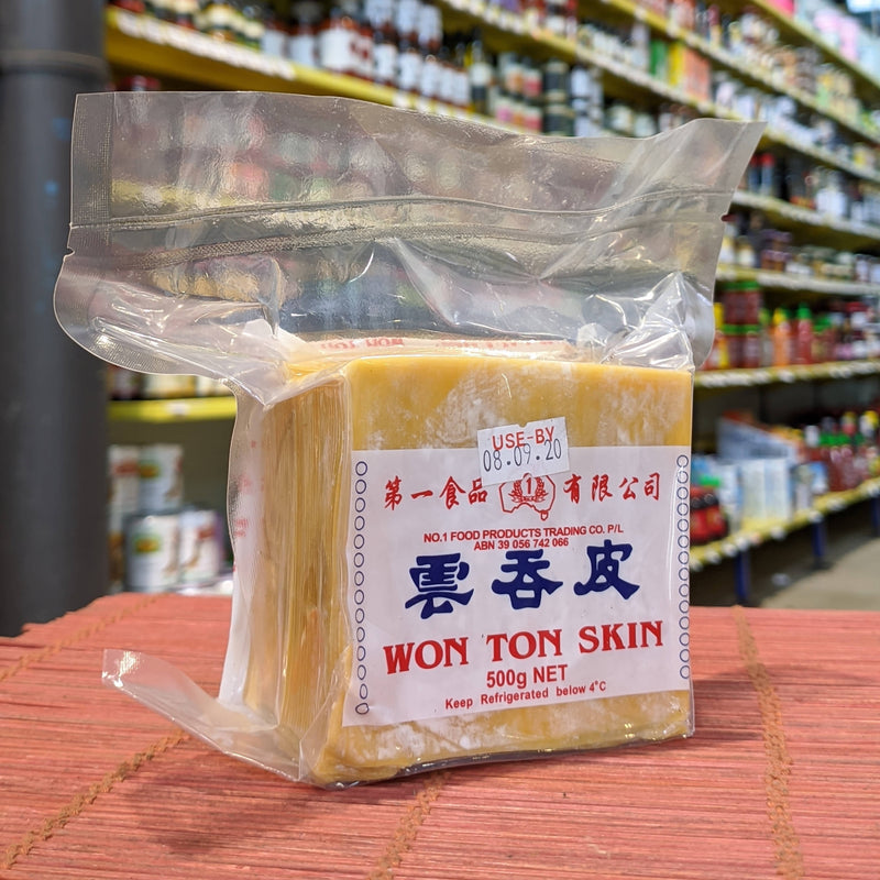 NO.1 FOODS Won Ton Skin 500g