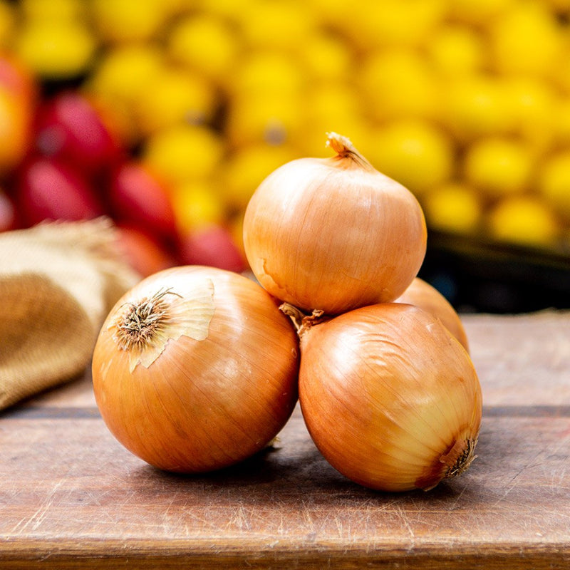 Loose Brown Onions ($2.99 p/kg)