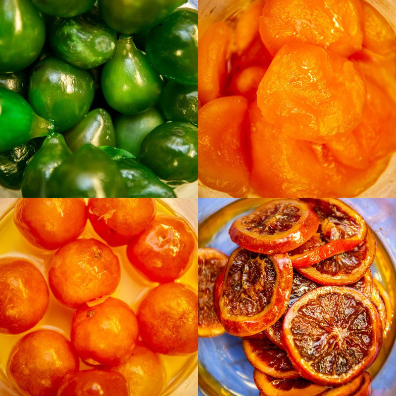Glazed Fruits - Oranges ($35 p/kg)