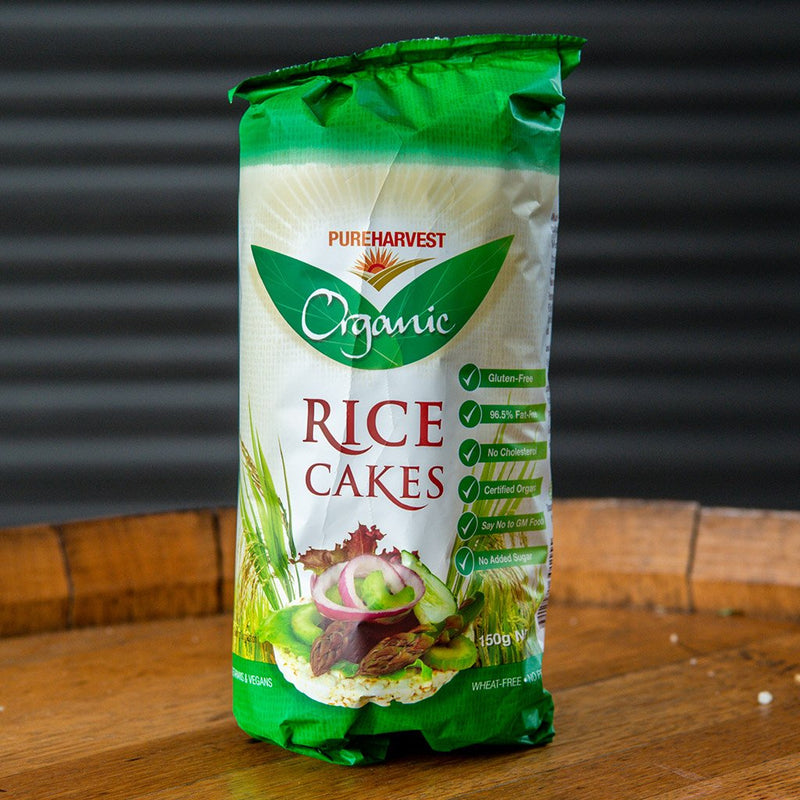Pure Harvest Organic Rice Cakes (150g)