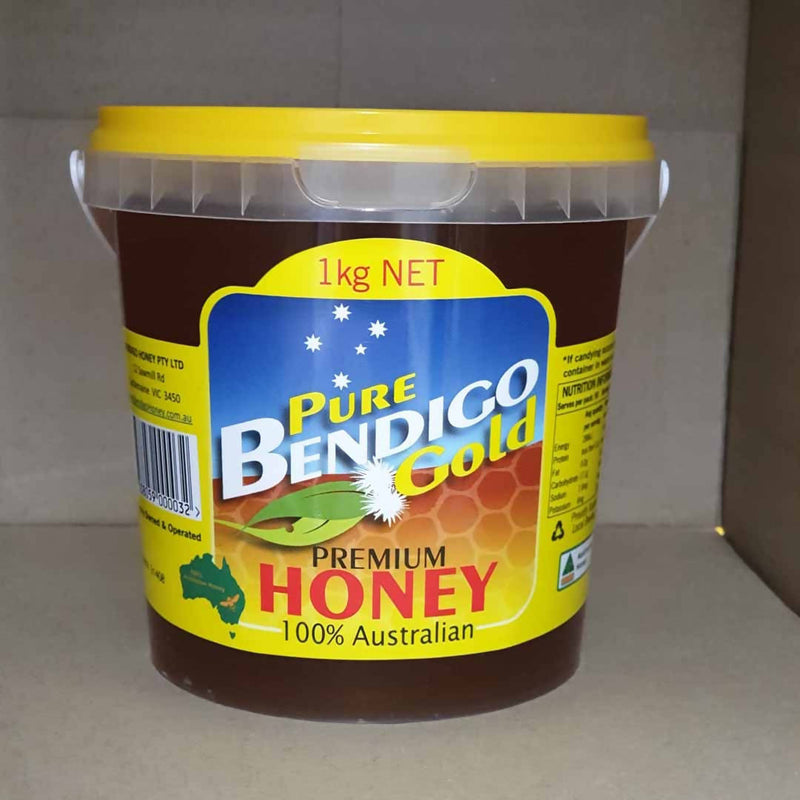 2x Pure Bendigo Gold Premium Honey - 1kg
