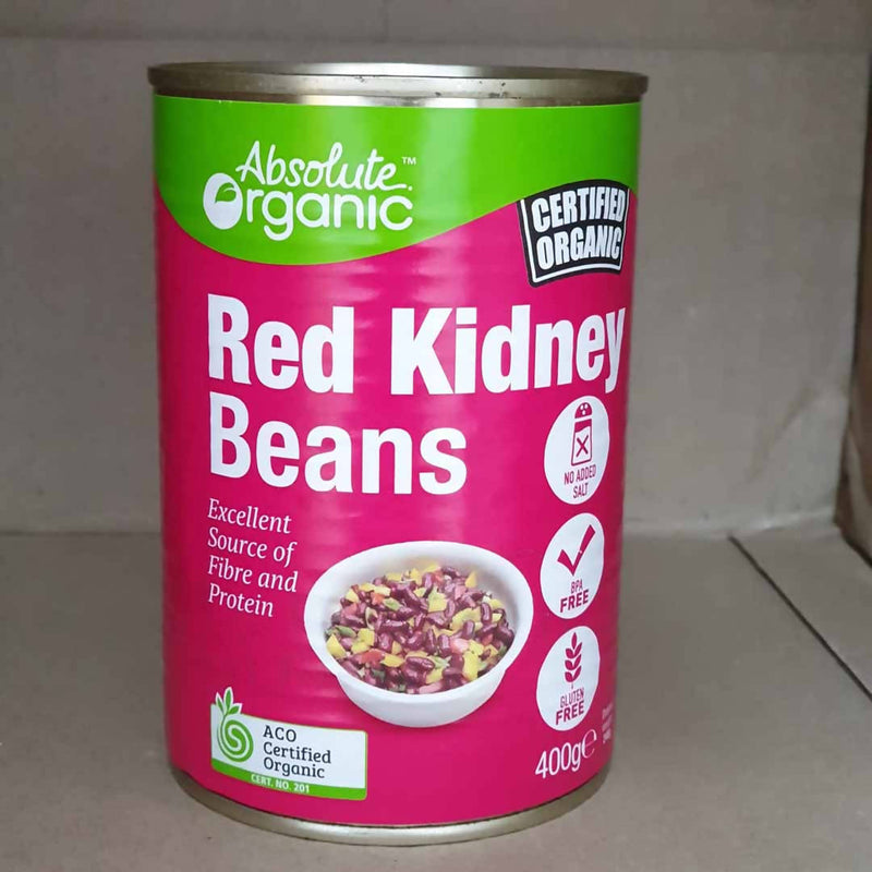 3x Red Kidney Beans by Absolute Organic - 400g