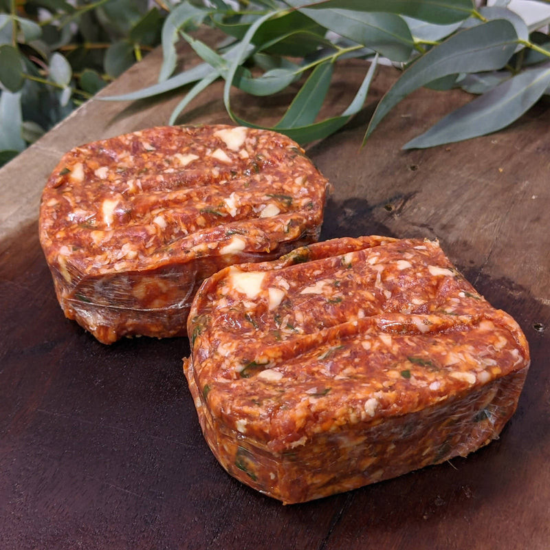 Lamb, Halloumi and Walnut Burger (2pk)