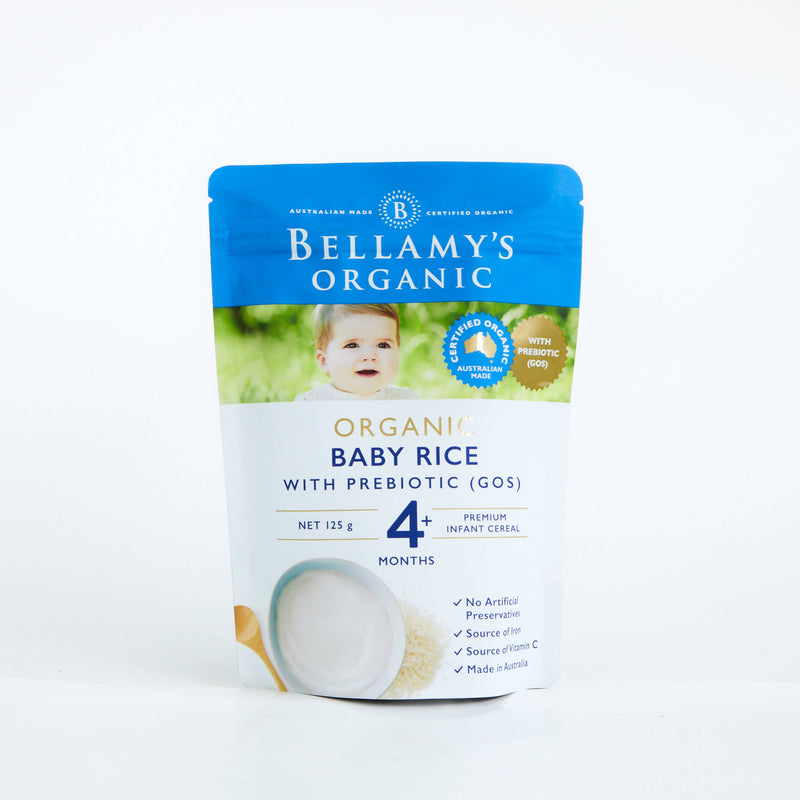 Bellamy's Baby Rice 125g