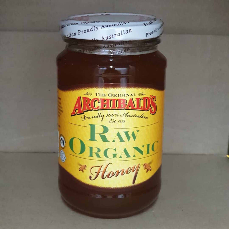 Archibald's Raw Organic Honey - 500g