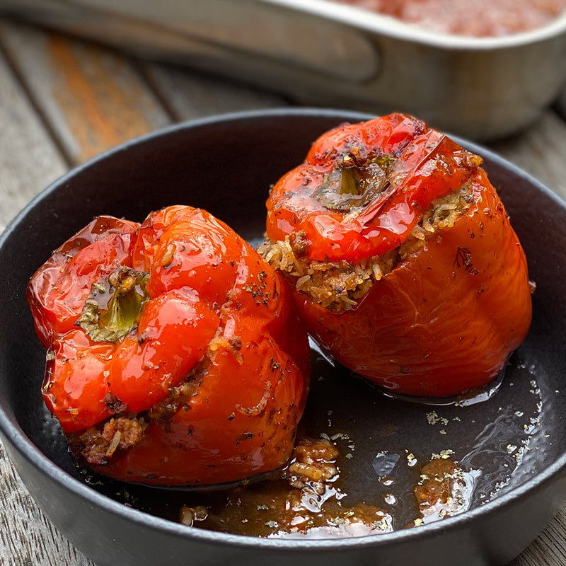 Yemista (Stuffed Peppers)
