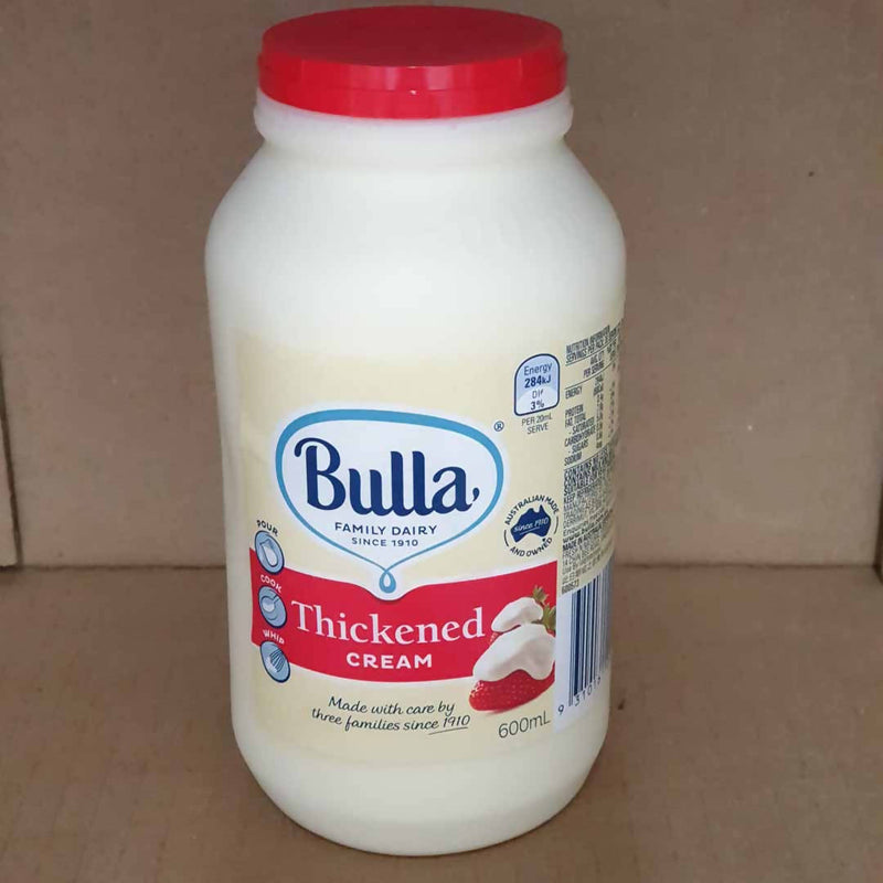 Bulla Thickened Cream - 600mL