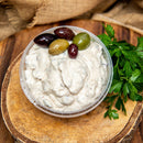 Three Olive & Garlic Dip
