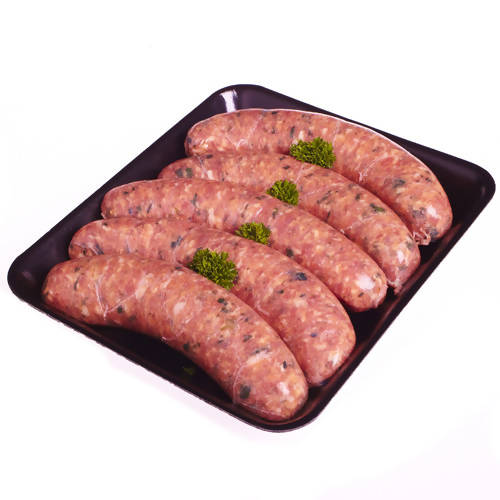 Lamb and Mint Thick Sausages GF (6 pieces)