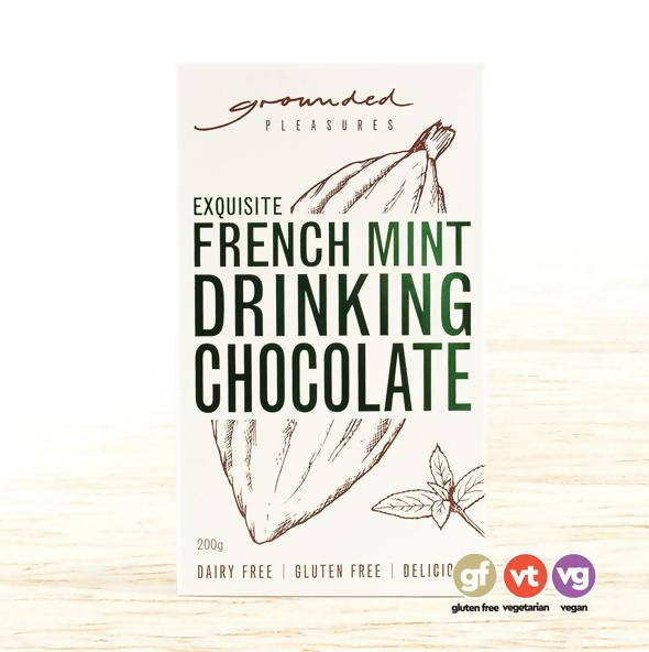 Grounded Pleasure - Drinking Chocolate French Mint