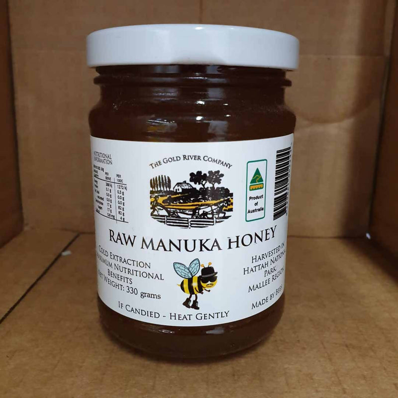 Raw Manuka Honey by The Gold River Company - 330g