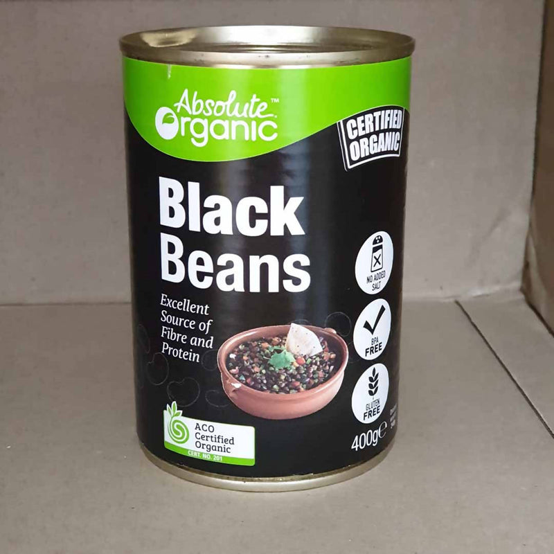 Black Beans by Absolute Organic - 400g