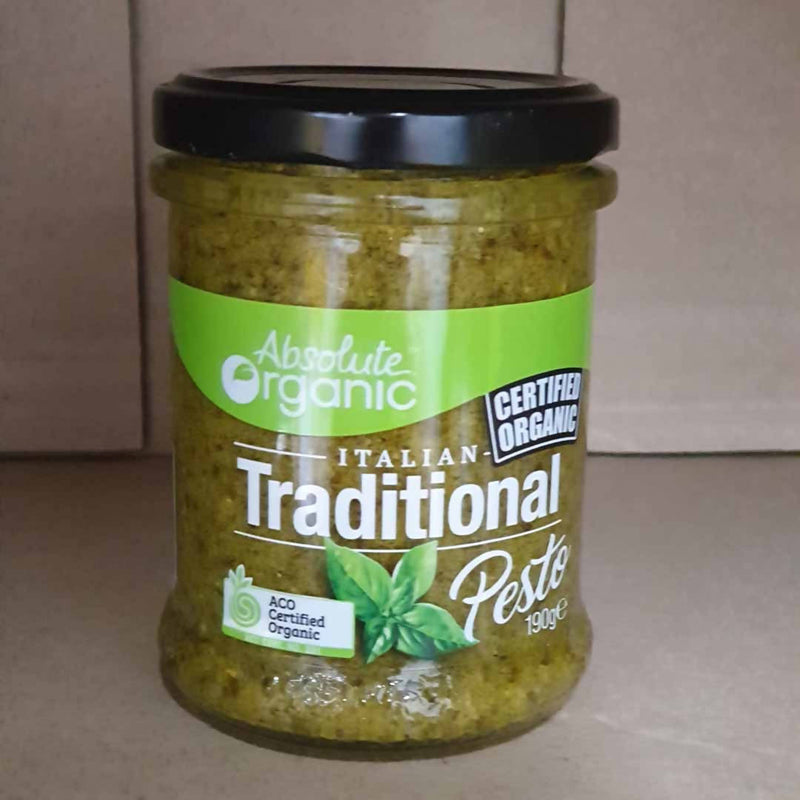 Absolute Organic Pesto Italian Traditional - 190g