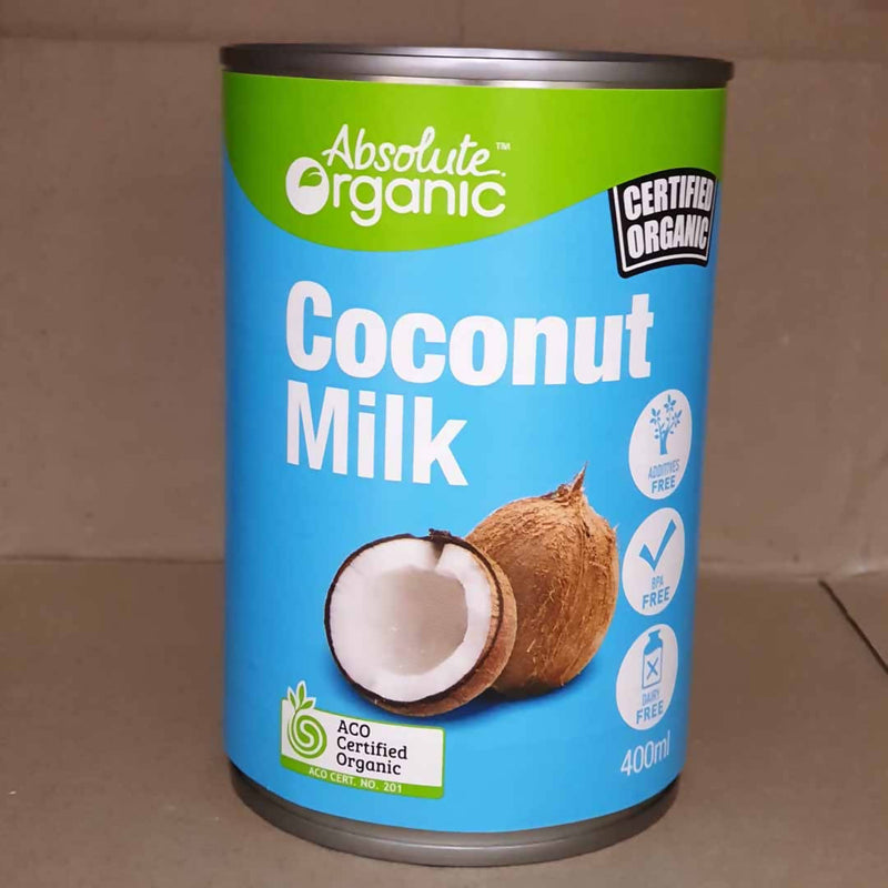 Organic Coconut Milks - Absolute Organic - 400mL