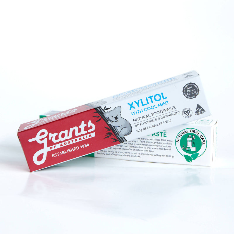 Grants Natural Toothpaste Xylitol with Mint 110g