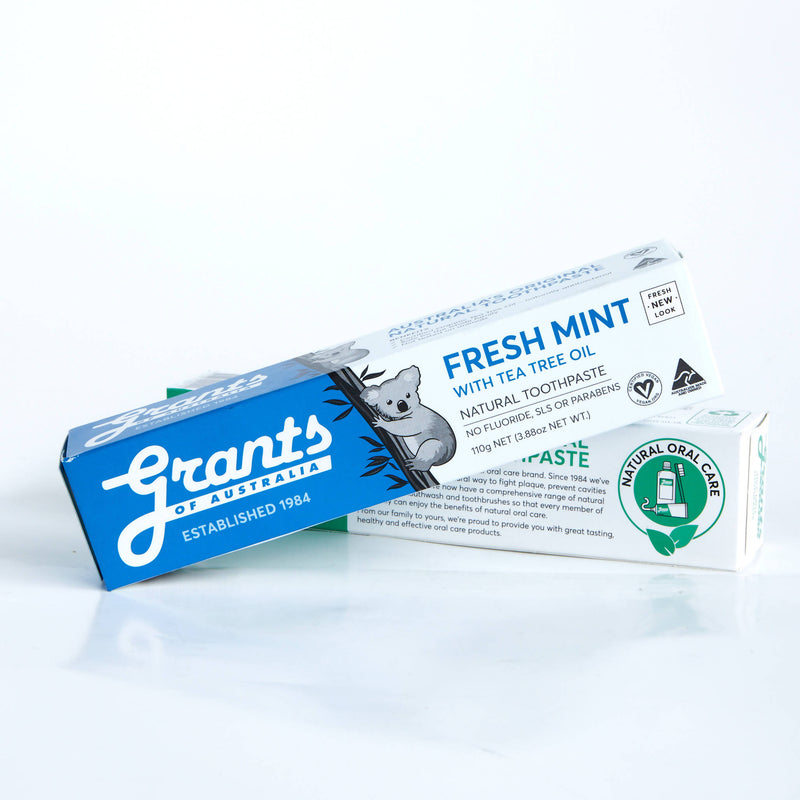 Grants Natural Toothpaste Fresh Mint 110g