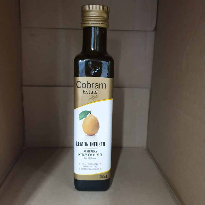 Lemon Infused Olive Oil by Cobram Estate - 250mL