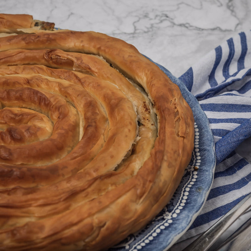 Spinach Pie - Borek - Spanakopita (Whole)