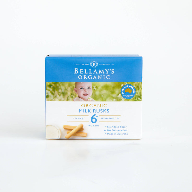 Bellamy's Milk Teething Rusks 100g