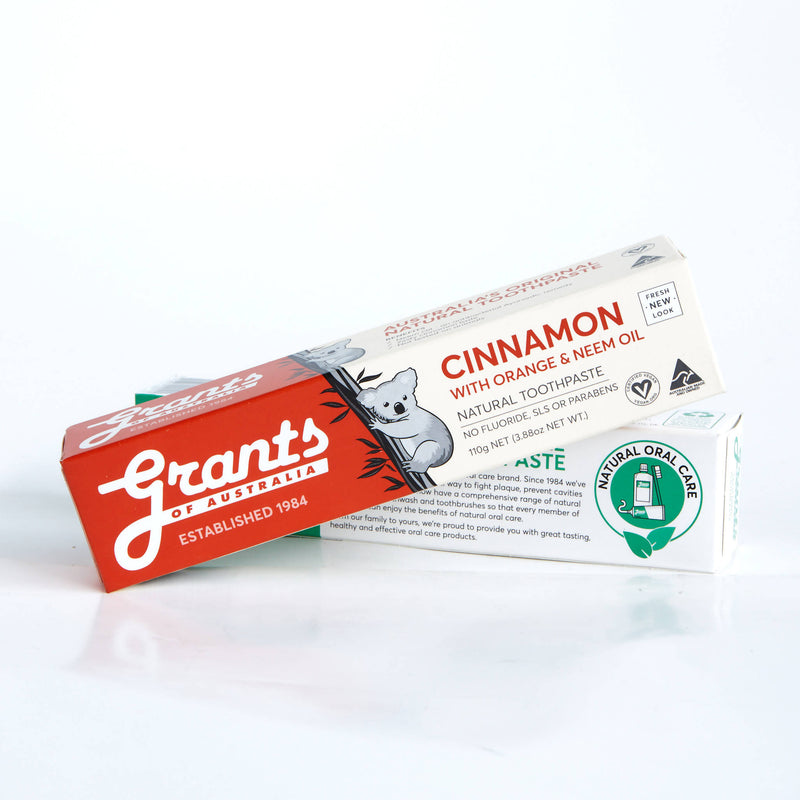Grants Natural Toothpaste Cinnamon 110g