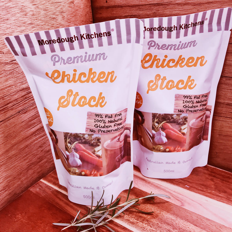 Moredough Kitchens Premium Chicken Stock (each)