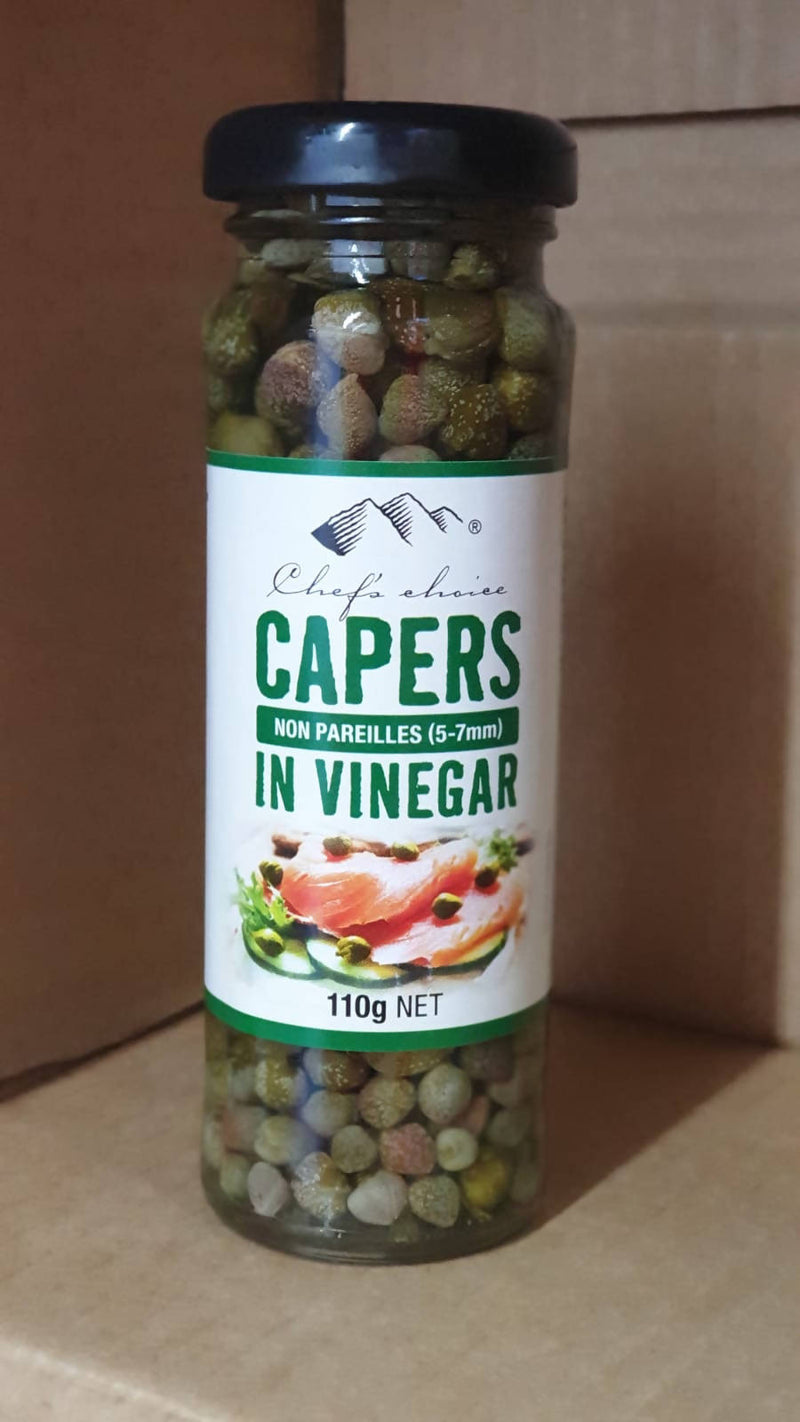 Capers In Vinegar by Chef's Choice - 110g
