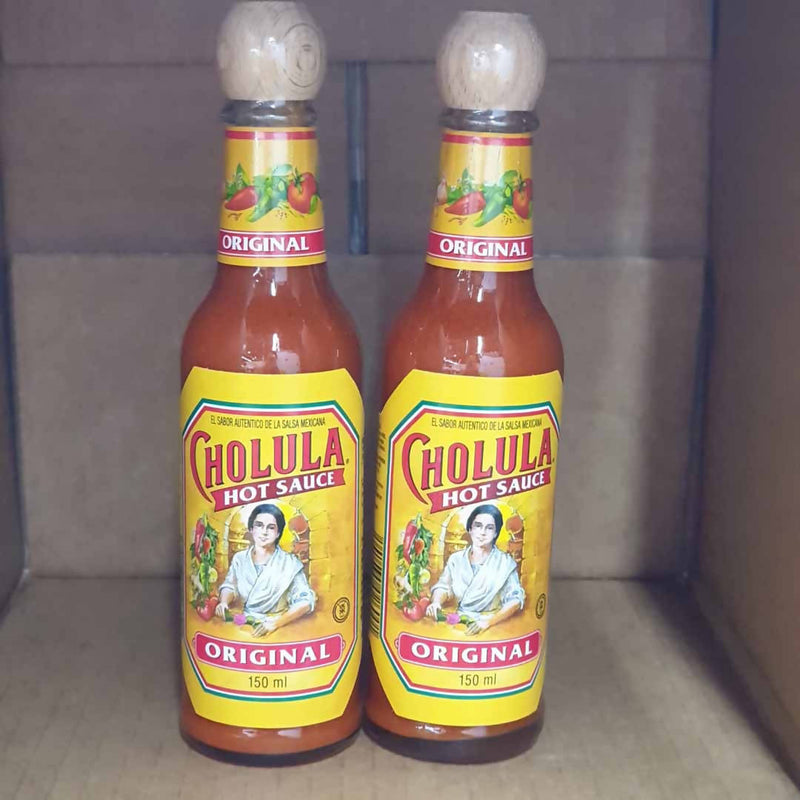 2x Cholula Original Hot Sauce - 100mL