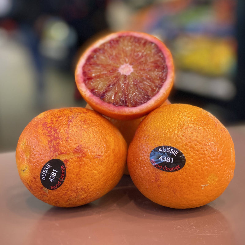 Blood orange ($6.99kg)