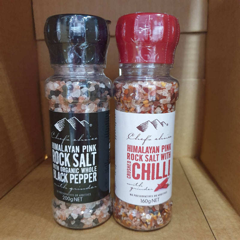 2x Chef's Choice Himalayan Salt in Grinder - 160g