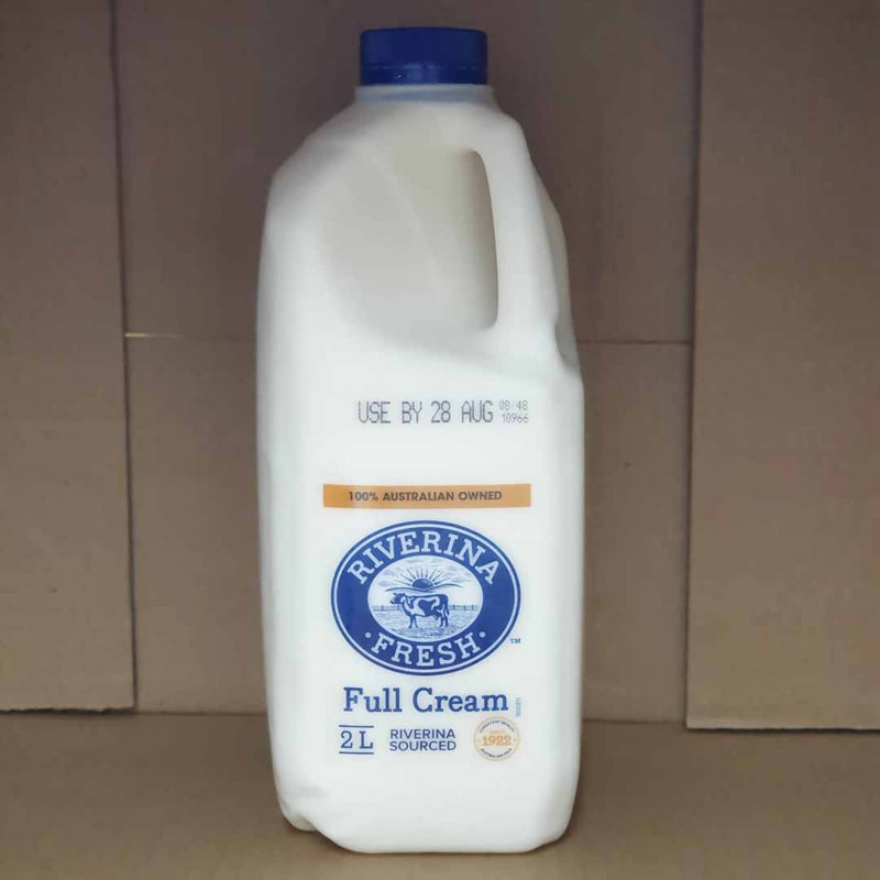 Riverina Fresh Full Cream Milk - 2Litres
