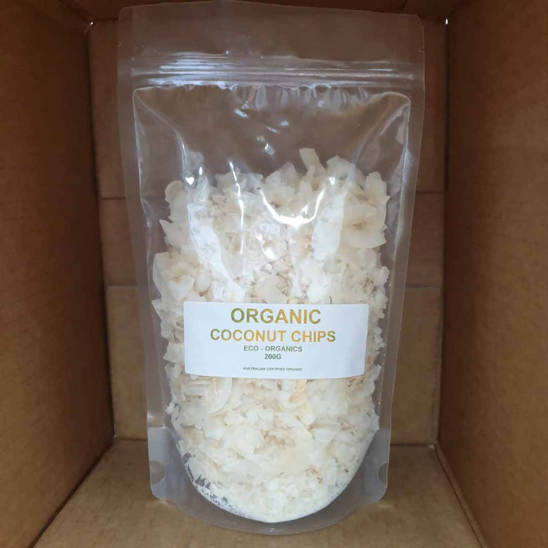 2x Coconut Chips Organic - 200g