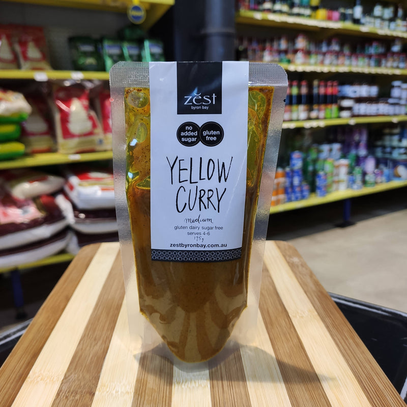 Zest Byron Bay YELLOW CURRY Paste