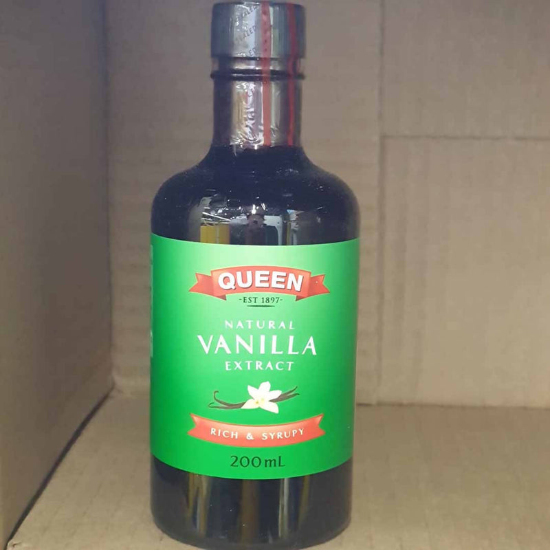 Queen Natural Vanilla Extract - 200ml