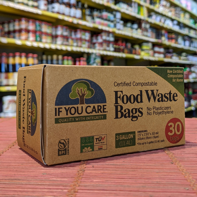 IF YOU CARE 30 Food Waste Bags