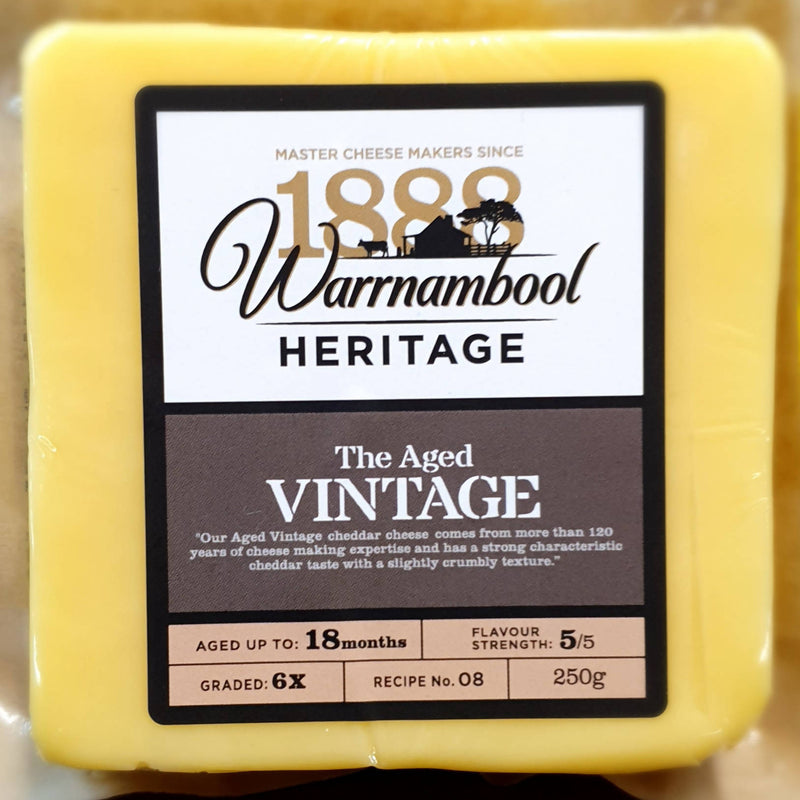 Aged Vintage Cheddar Cheese