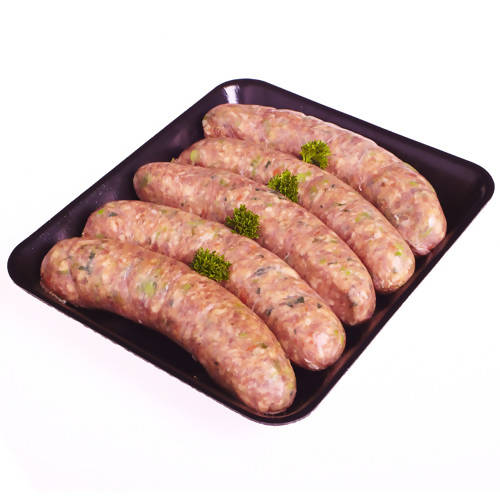 Pork and Fennel Thick Sausages GF (6 pieces)