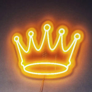 Heavy Is The Crown Neon Sign