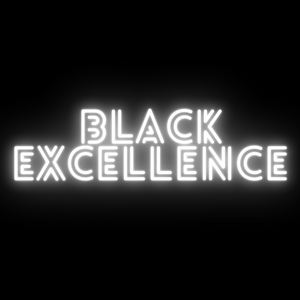 Black Excellence Neon light