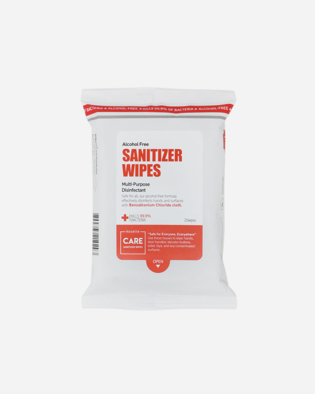 Sanitizer Wipes - 20 sheets