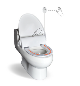 Automatic Hygienic Toilet Seat Plastic Film System with Touchless Sensor
