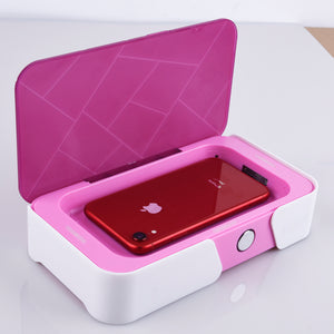 Wireless Charger and Disinfecting Box