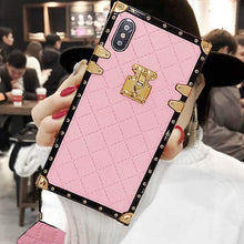"Load image into Gallery viewer, Samsung case ""Pink Leather"" by PURITY"