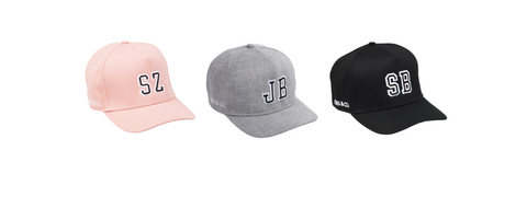 cubs and co personalised snapback hats