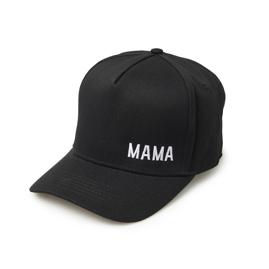 Black baseball cap with Mama for women. Cubs & Co. Australia