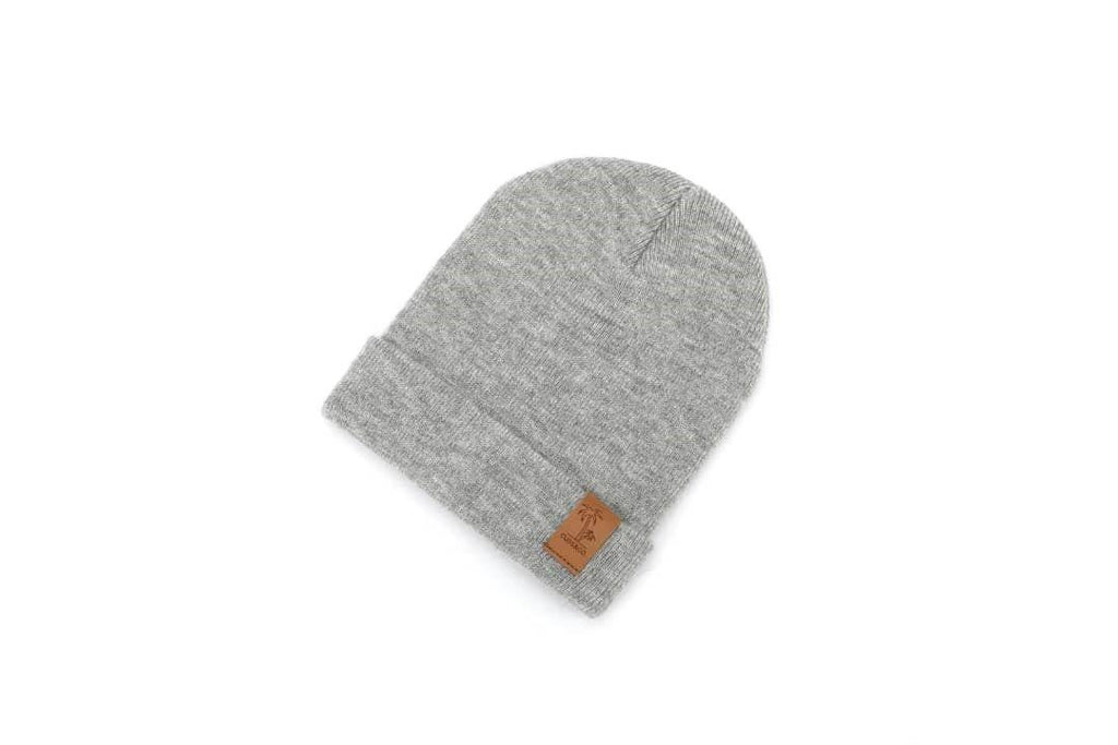 Grey winter beanie for kids, women and men. Cubs and Co. Australia