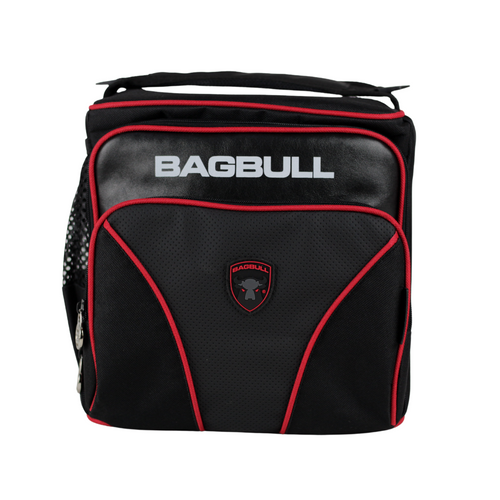 BAG BULL ONE MAX NEGRA CON ROJO
