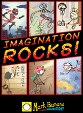 Load image into Gallery viewer, Imagination ROCKS!