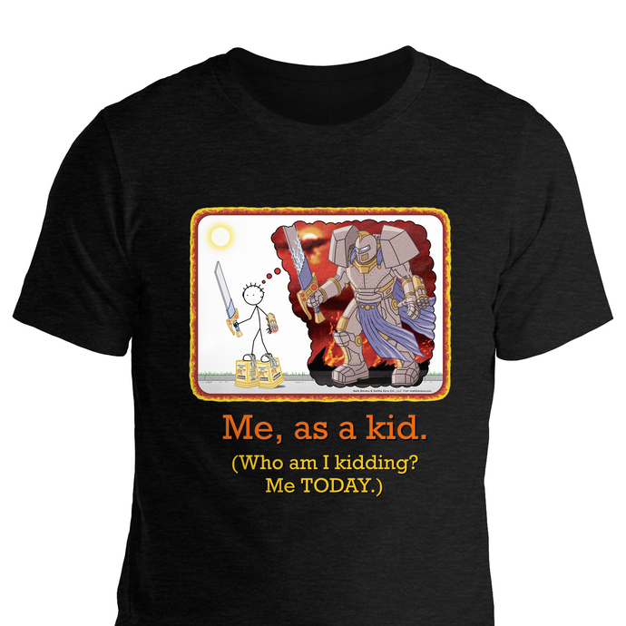 DAD SHIRT: Me, as a Kid